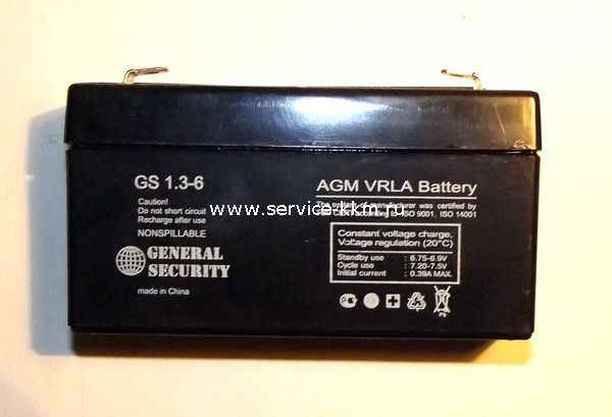 Аккумуляторная батарея 6В